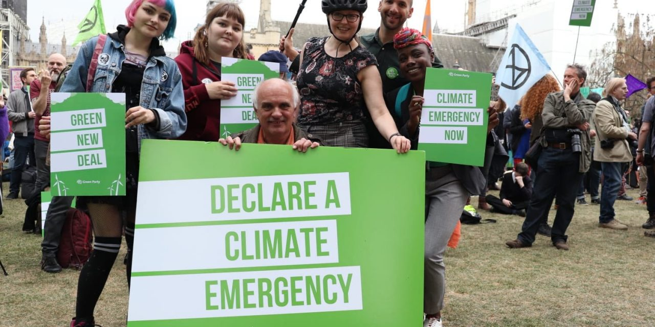 The Green Party is the political wing of the climate movement