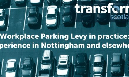 Sue Flack Talk: Workplace Parking Levy in Practice: Experience in Nottingham and Elsewhere.