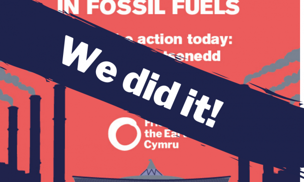 Welsh Assembly & Councils divesting from fossil fuels
