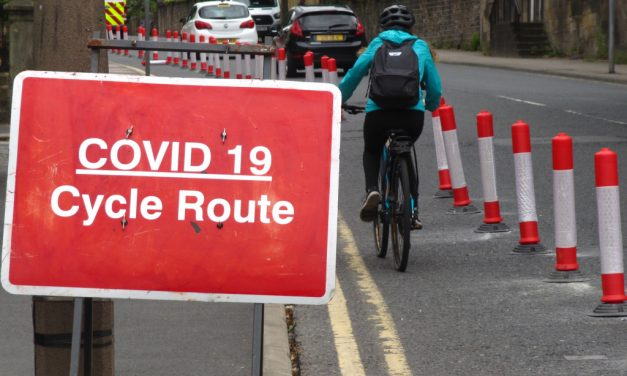 Re-allocating Road Space for Cycling and Walking